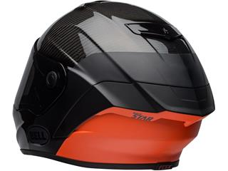BELL Race Star Flex DLX Helmet Carbon Lux Matte/Gloss Black/Orange Size L - 0a79d282-d99b-4c0f-a508-8392affe66f9