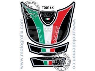Protector de depósito Motografix Multistrada 1200 negro/verde/blanco/rojo