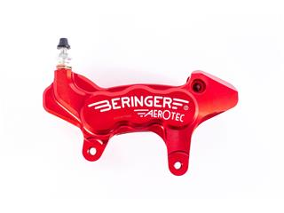 BERINGER Aerotec® Left Axial Brake Caliper 6 Pistons Ø27mm Red