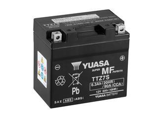 Batterie YUASA TTZ7S sans entretien livrée avec pack acide - 32TTZ7S