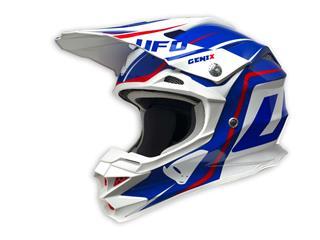 UFO Interceptor II Helmet Genix Blue/White/Red Size XS - 43HE034XS
