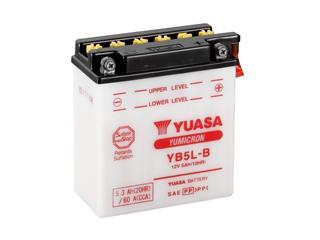 Batterie YUASA YB5L-B conventionnelle livrée avec pack acide - 32YB5LB-ACID