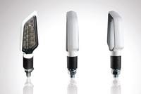 Mini-clignoteurs Led Bower BLANC / fumé - 0c5875fd-17b9-4f17-af39-bca7467f5796