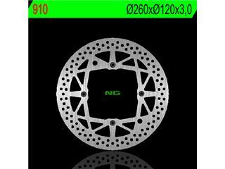 Disque de frein NG 910 rond fixe - 350910