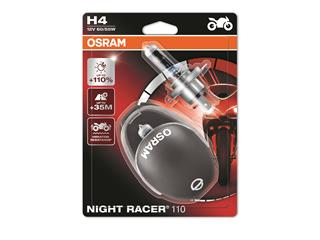 OSRAM H4 Night Racer 110 12V/60/55W Base P43t-38 Blister 2pcs + Helmet