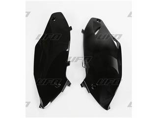 Plaques latérales UFO noir Kawasaki KX250F/450F - 78228720