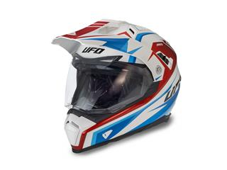 UFO Aries Helmet White/Red/Blue Size XS