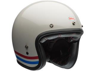 Casque BELL Custom 500 DLX Stripes Pearl White taille XXL - 0d618175-021a-4a69-8c0f-9fccca1d2f00