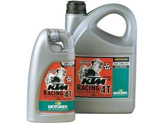 Huile moteur MOTOREX KTM Racing 4T 20W60 synthétique 4L - 551260