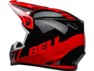 Casque BELL MX-9 Mips Dash Black/Red taille L - 0e4c886b-f9ee-4df4-9f23-2c14fe95de26