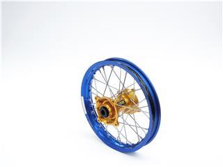 HAAN WHEELS Komplett bakhjul 18X2.15X36T Blå FälgGultd Nav Yamaha WR/WR-F