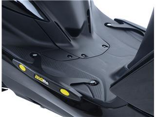 Slider de marche-pied R&G RACING noir Yamaha/MBK