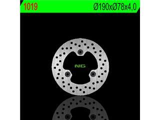 Disque de frein NG 1019 rond fixe - 3501019