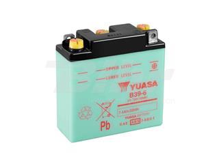 Batería Yuasa B39-6 Dry charged (sin electrolito)