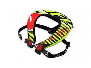 Proteção de pescoço UFO Bulldog, preta/verde, tamanho único - 806000010101