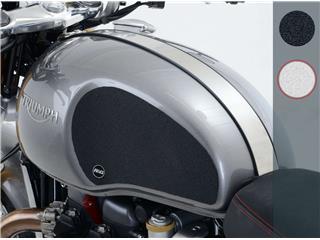 R&G RACING Tank Traction Grip 2 Pieces Clear Triumph Thruxton/Thruxton R - 780297