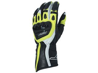 RST R-18 Gloves CE Leather Flo Yellow Size L/10