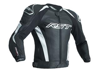 RST TracTech Evo 3 Jacket CE Leather White Size 3XL