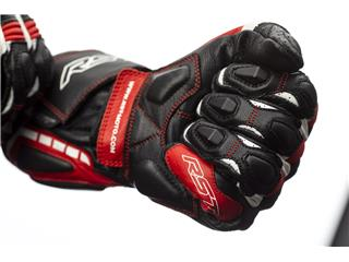 RST Axis CE Gloves Leather Red Size L Men - 113686f3-08eb-4bda-971a-ec596b3d8e5d