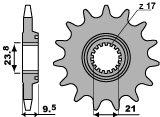 VOORTANDWIEL 13 TANDEN CRF450R/X 05-13