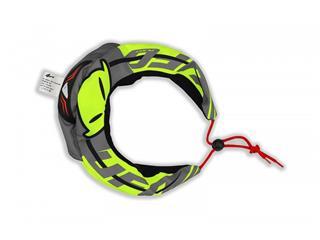 Capa proteção cervical UFO preta/verde, tamanho único - 899002890101