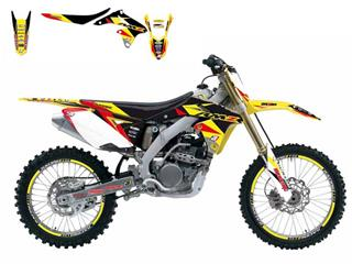 Kit déco complet BLACKBIRD Dream Graphic 3 Suzuki RM-Z450
