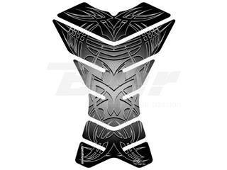 Protector de depósito Motografix X-3 3 piezas Tribal, negro