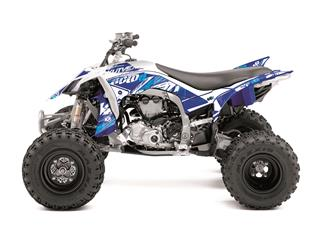 Kit déco KUTVEK Rotor bleu Yamaha YFZ450R - 78104007