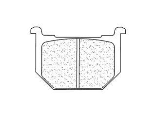 Plaquettes de frein CL BRAKES 2694S4 métal fritté