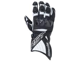 RST Blade II CE Gloves Leather White Size M/09 - 121250509