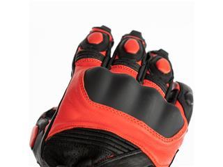 RST GT CE Leather Gloves Red Size M - 122bb3a0-5172-48c6-a68f-827131816e45