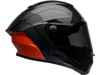 BELL Race Star Flex DLX Helmet Carbon Lux Matte/Gloss Black/Orange Size L - 125c1042-8ea1-4b6f-bd4d-02e5c29a38fd