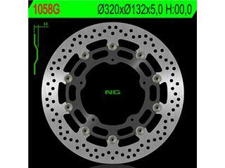 NG 1058G Brake Disc Round Floating Yamaha