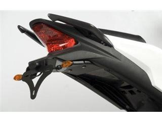 Support de plaque R&G RACING noir Honda CBR125R