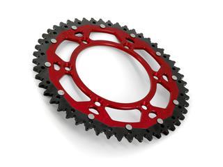 Couronne ART Bi-composants 50 dents aluminium/acier ultra-light anti-boue pas 520 type 210  rouge - 12a6e1dc-37e0-4dd8-87c0-a18ed2a5101f