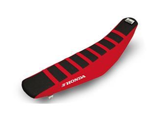 Housse de selle BLACKBIRD Zebra noire/rouge Honda CRF250/450R - 78101795