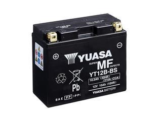 Batterie YUASA YT12B-BS sans entretien livrée avec pack acide - 32YT12BBS