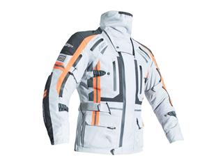 RST Pro Series Paragon V CE Jacket Textile Silver/Flo Red Size S