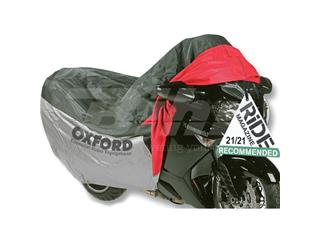 Funda de proteccion para motocicletas con bolsillo frontal T.L (183cm) Oxford OF924