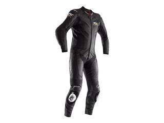 RST IOM TT Grandstand CE Leather Suit Black Size XS Men