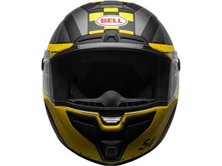 Casque BELL SRT Devil May Care Matte Gray/Yellow/Red taille L - 13f42094-c8dc-4d46-a5e2-fe60d4f2ae28
