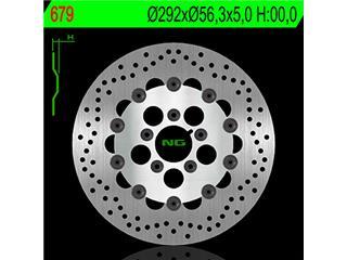 Disque de frein NG 679 rond semi-flottant - 350679