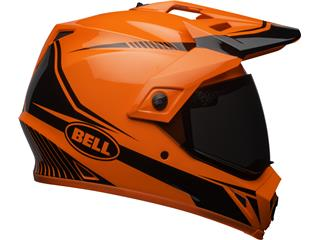 Casque BELL MX-9 Adventure MIPS Gloss HI-VIZ Orange/Black Torch taille L - 14289b50-ecf0-4041-93b7-6b9ef5033bcd