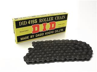Chaîne de transmission D.I.D 415 S noir/noir 118 maillons