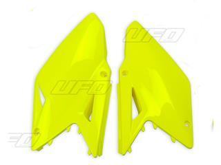Plaques latérales UFO jaune fluo Suzuki RM-Z450 - 78328965