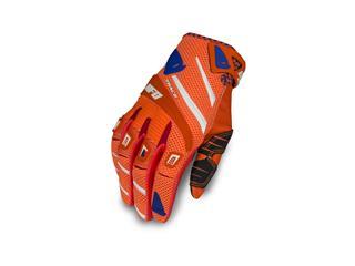 UFO Trace Gloves Neon Orange/Blue Size M - 828000290609