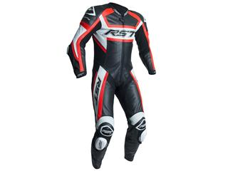 RST TracTech Evo R Suit CE Leather Flo Red Size XL