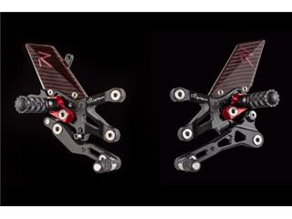 LIGHTECH Adjustable Rearset Standard & Reverse Shifting Yamaha Yzf-R1