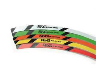 R&G RACING 17'' White Rim Tape Set - 15ee3997-c3ba-49e8-a7d6-be83de921c18