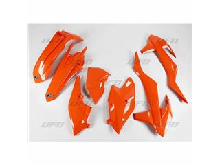 Kit plastique UFO orange KTM - 78587353